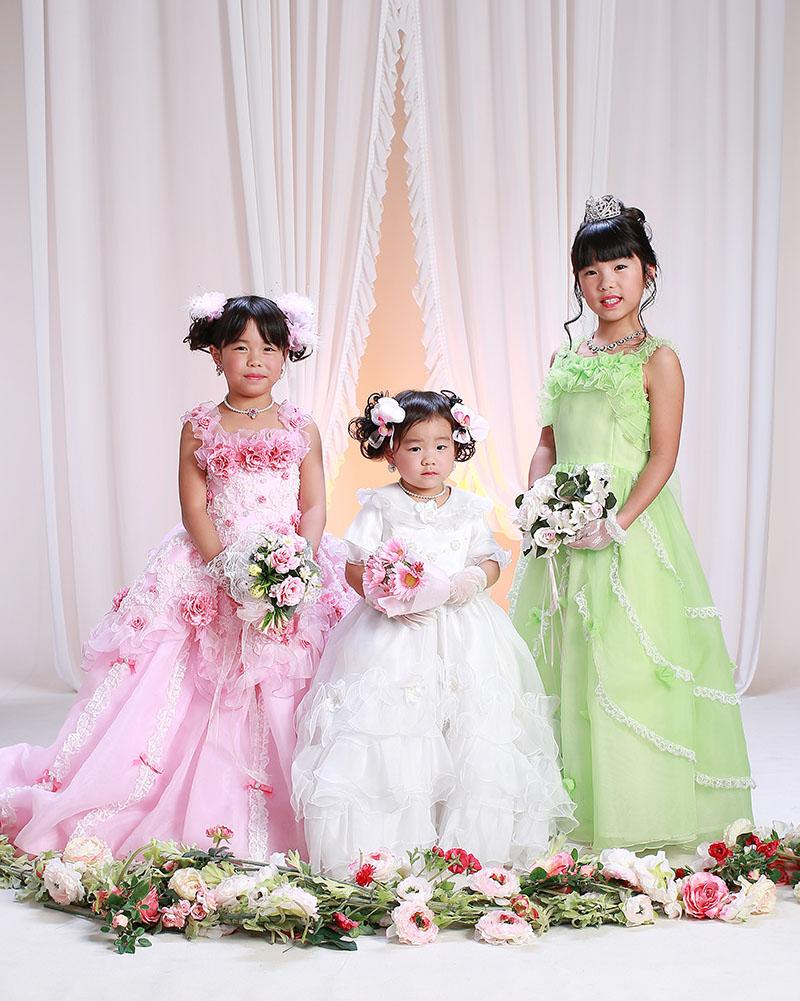 七五三|ドレスの姉妹
