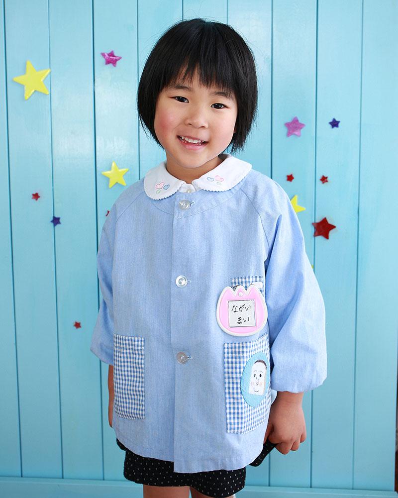 幼稚園入園の記念写真